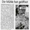 Pressebericht vom Mühlentag 2004
